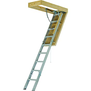 Fakro Lwt 66892 Wooden Thermo Attic Ladder With 12 5 R Value For 25 Inch X 47 Inch Rough Openings Amazon Com