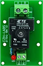 CZH-Labs 24V Passive SPST-NO 30Amp Power Relay Module Board.