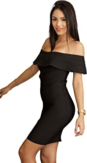 Wow Couture Bandage Dress for Women Mini Casual Bodycon