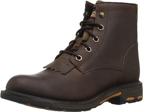 Ariat - - Chaussures de Travail Western Unisexes Enfants Workhog Lacer  livraison gratuite et rapide disponible