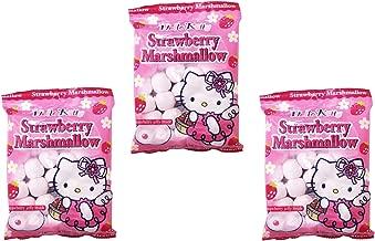 Hello Kitty Strawberry Marshmallow 90g, 3 Pack
