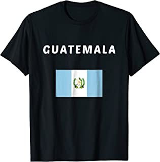Guatemala T-shirt Guatemalan Tee Flag souvenir Gift
