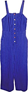 Wild Fable Blue/Black Stripe Women's Capri Jumpsuit XXS