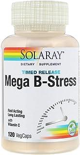 [Solaray] [メガB-ストレス、徐放性、120ベジカプセル] [並行輸入品]