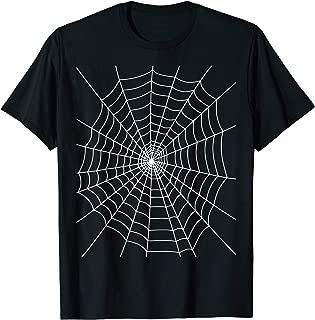 Halloween Spider Web Costume T Shirt