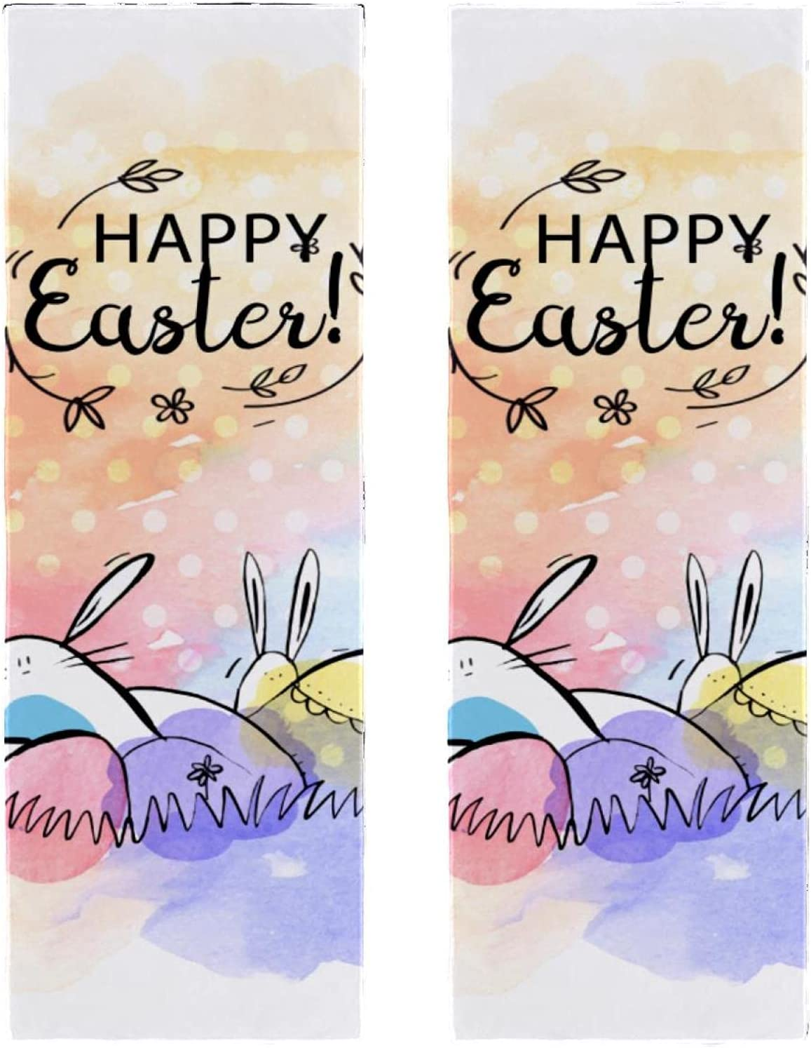 High order Fast Drying latest Microfiber Towels 2 Easter Packs Fantastic Pri Bunny