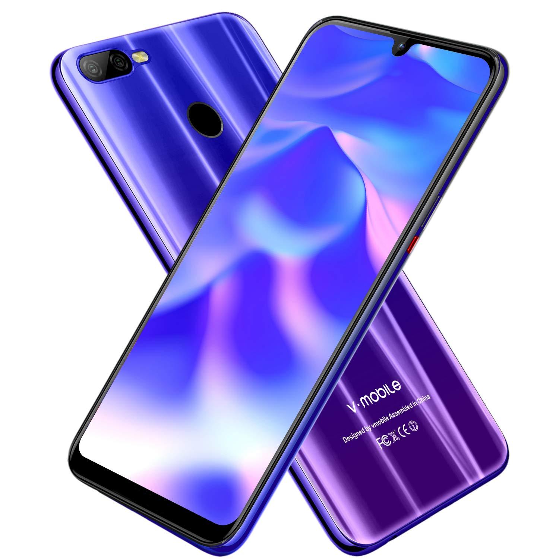 M9 Moviles Libres 4G, Android 8.1 4GB RAM 64GB ROM Dual SIM 4G Moviles Buenos Dual Cámara(12+5MP) Smartphone Libre Face ID Batería 4800mAh: Amazon.es: Electrónica