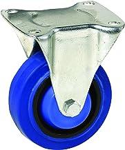 Easyroll 15818 Vaste Plaat Castor, Blauw, 75mm