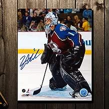 David Aebischer Colorado Avalanche Autographed 8x10