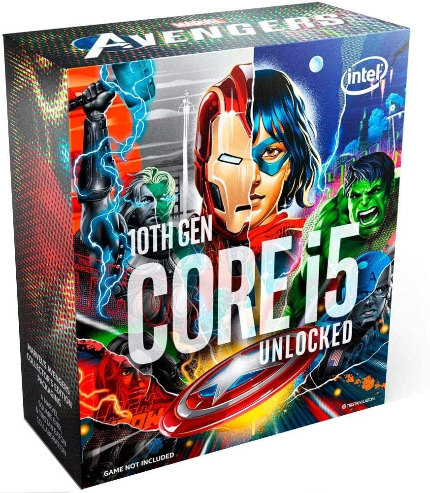 Intel Core i5-10600K Comet Lake Cheap mail order specialty store 4.1GHz Avengers Max 57% OFF Limited Edition