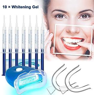 Kit de Blanqueamiento Dental Profesional Blanqueador Dientes Gel,Sin Peróxido,Contra Dientes Amarillos,