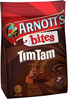Arnott's Bites Tim Tams qty 170g package