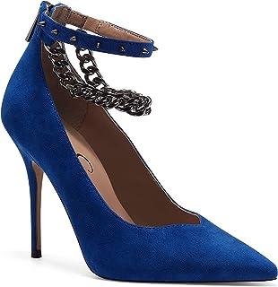 حذاء نسائي بكعب عالٍ من Jessica Simpson بكعب عالٍ، الشاي الحقيقي، 6