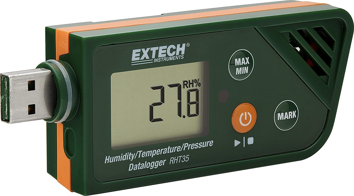 Limited time sale Extech RHT35 USB Bargain Humidity Temperature Pressure Datalogger and