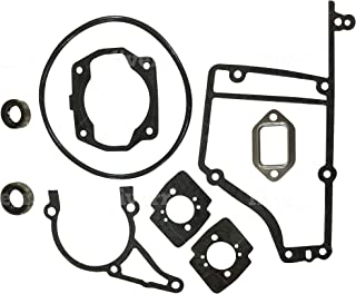 EngineRun TS400 42230071050A 9 Pcs Gasket Set with Oil Seal fits for Stihl TS 400 Cut-Off Saw Stens 480-701 4223-007-1050A