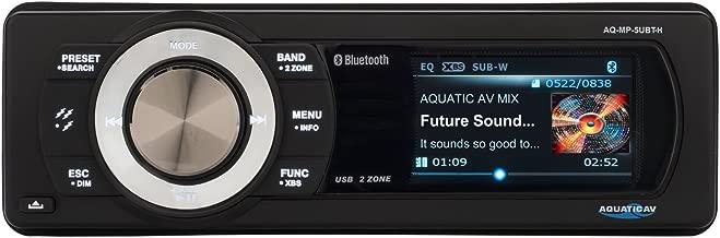 Aquatic AV AQ-MP-5UBT-H Factory Harley Davidson Replacement AM/FM Radio with 3