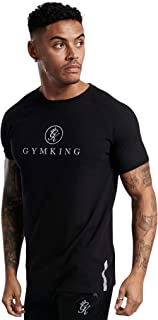 Gym King Men's T-Shirt Fashion Casual Style Tee Sport Active Sport Logo Clothing