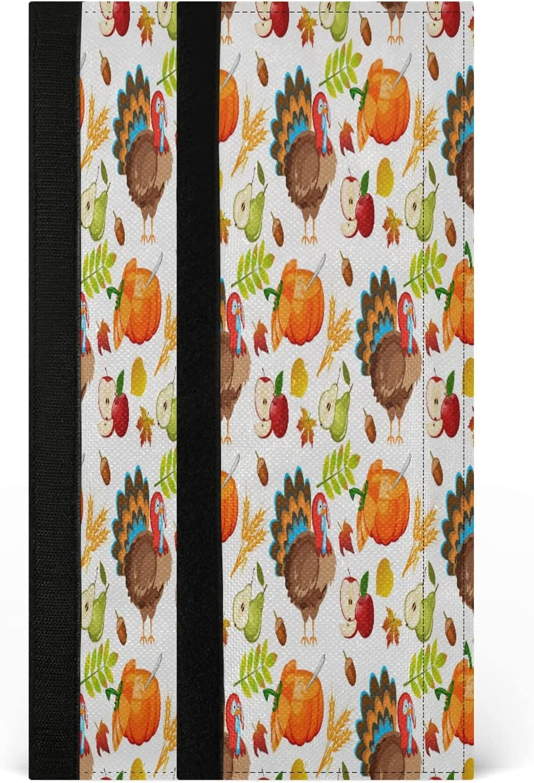 STAYTOP 2PCS Refrigerator Handle Covers,Thanksgiving Turkey Appl