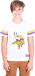 Ultra Game NFL Boys Mesh Vintage Jersey Tee Shirt