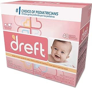 Dreft Ultra Baby Powder Detergent 40 Loads 53 Oz