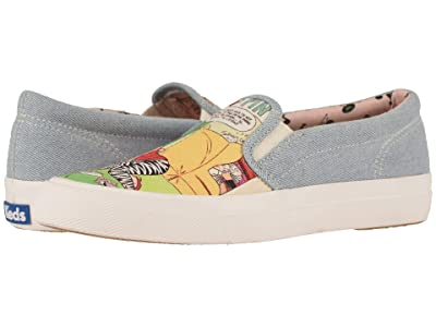 Keds Keds x Betty and Veronica Anchor Slip-On Comic (Denim Multi) Women