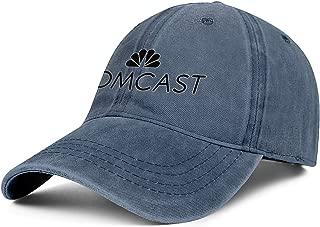 CVEWDFVFD Blue Unisex Cowboy Funny Cotton Caps Strapback Baseball Denim Hat