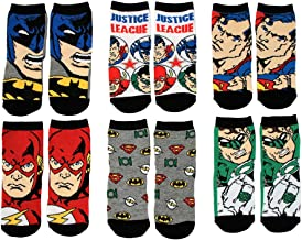 DC Comics Baby Boys 6-Pack Justice League Socks Sockshosiery