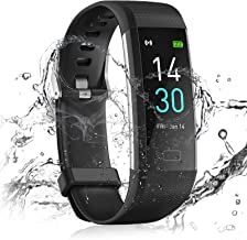 24HOCL Smart Watch Fitness Tracker with Temperature Measurement Heart Rate Sleep Monitor, Waterproof Sports Wristband Step...