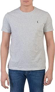 Men's Pony Logo Crew Neck T-Shirt