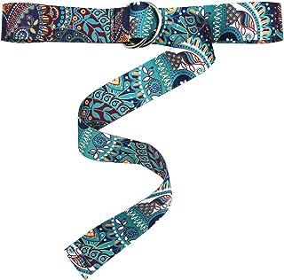 حزام نحيل ملون للنساء زهري قابل للتعديل رفيع الخصر حزام Cincher أزياء اكسسوارات فستان ديكور