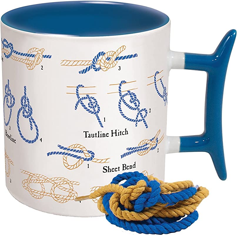 How To Knots Coffee Mug Learn How To Tie Eight Different Knots Comes In A Fun Gift Box By The Unemployed Philosophers Guild