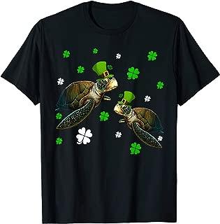 Leprechaun Turtle St Patricks Day Tshirt Turtle Lover Gifts