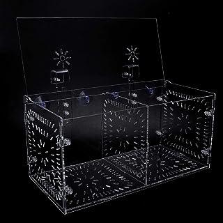 SALUTUYA Hochdurchlässige Inkubationsbox für Aquarien für verletzte, kranke Fische(30CM*15CM*15CM)