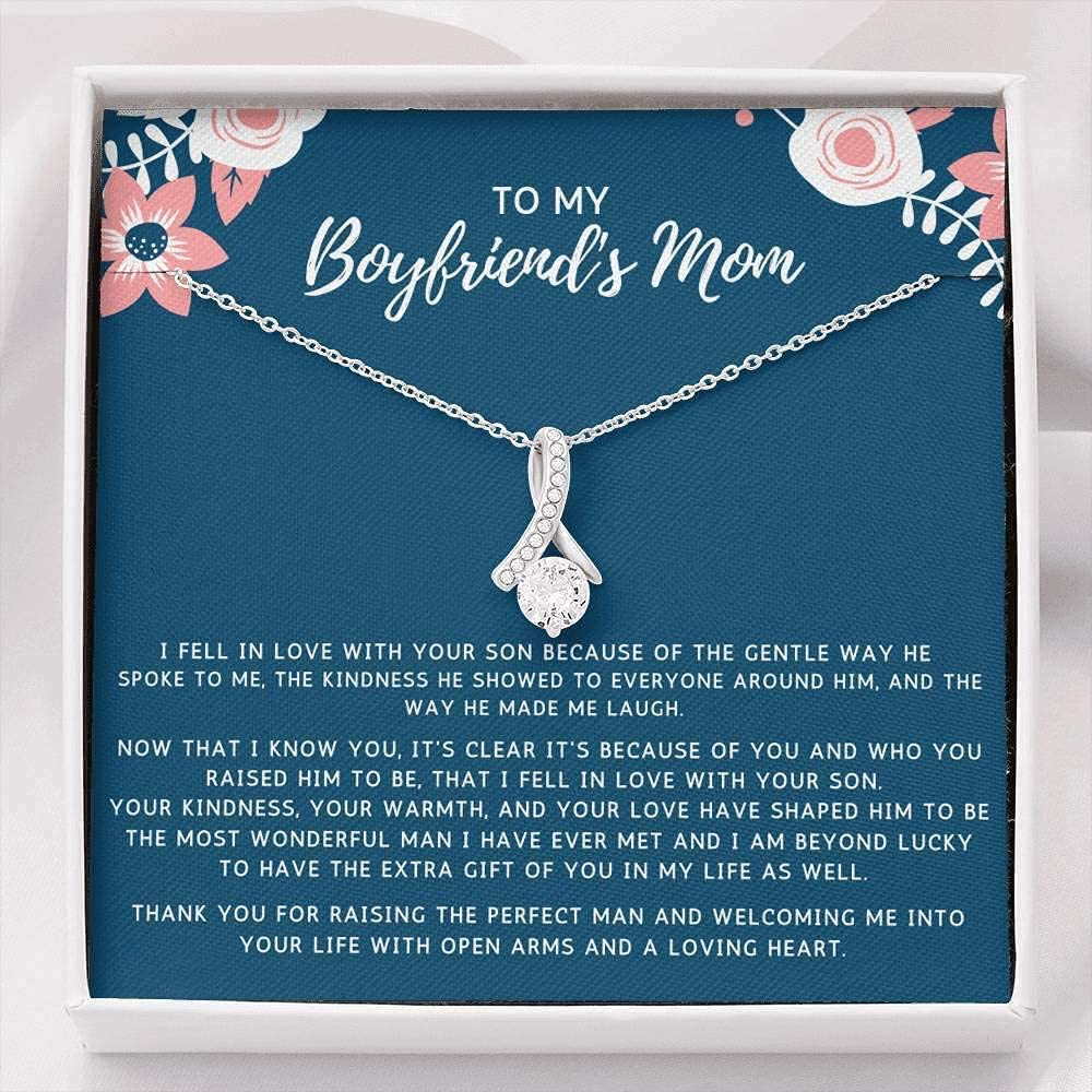 Max 66% OFF Gift to My Boyfriend's Super special price Mom Necklace with Box 80