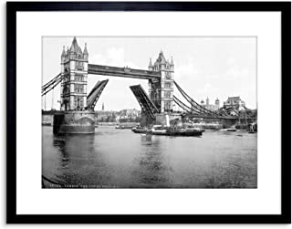 The Art Stop Vintage Photo London Tower Bridge England Framed Print F97X3900