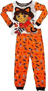 Nickelodeon Infant Toddler Girl Dora The Explorer Halloween Sleep Set Pajama