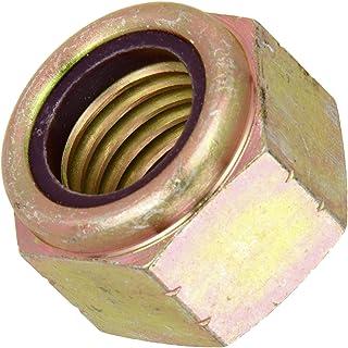 Hex Nylon Insert Stop Lock Nuts N1610 Series Yellow Zinc 9//16-12 Grade 8 Steel 50 pcs