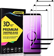 4youquality [3-Pack] Samsung Galaxy S9 Screen Protector, Tempered Glass Film [LifetimeWarranty][Full Coverage][Scratch-Resistant] Screen Protector for Samsung Galaxy S9