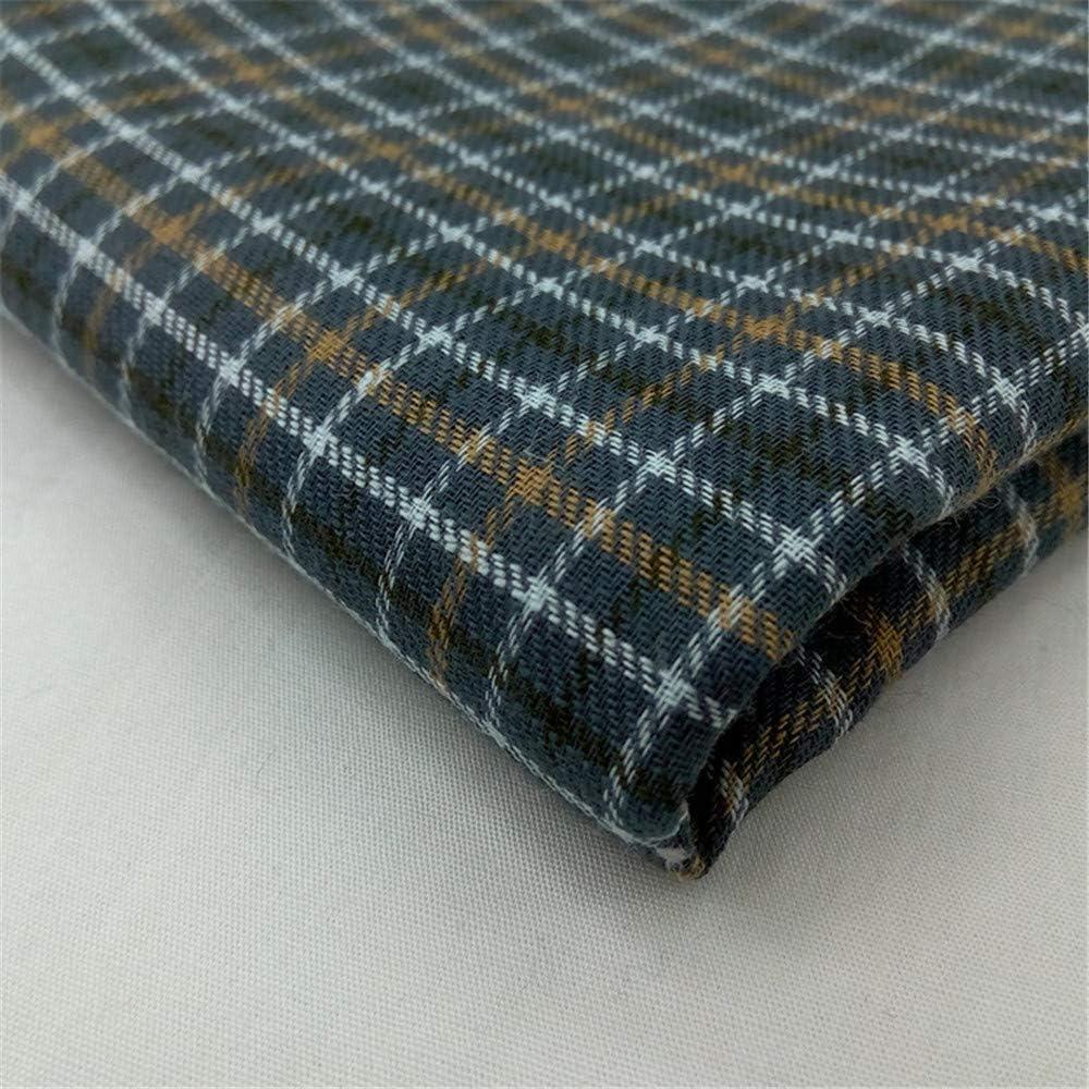 Cntqiang 6Pcs Vintage Cotton Classic Check Plaids Handkerchiefs Pocket Square Towel Hanky for Men Gifts