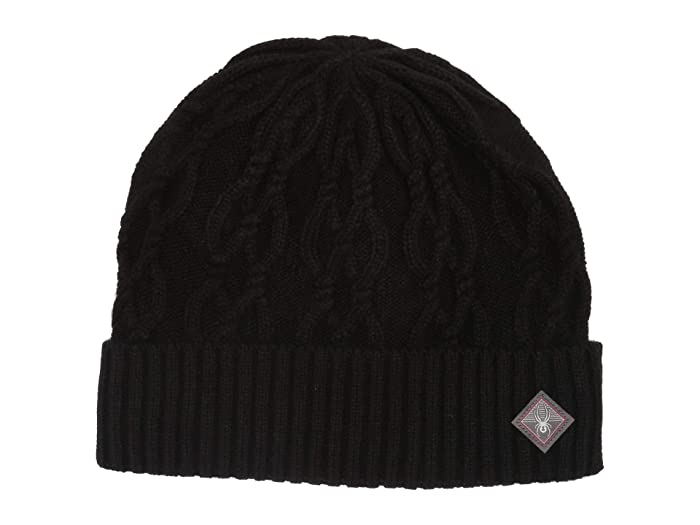 Cable Knit (Black) Cold Weather Hats