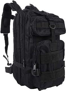 G&X Mochila táctica militar, mochila militar de 25 l, mochila de asalto Molle, mochila táctica de combate para actividades al aire libre, senderismo, camping, senderismo, pesca, caza
