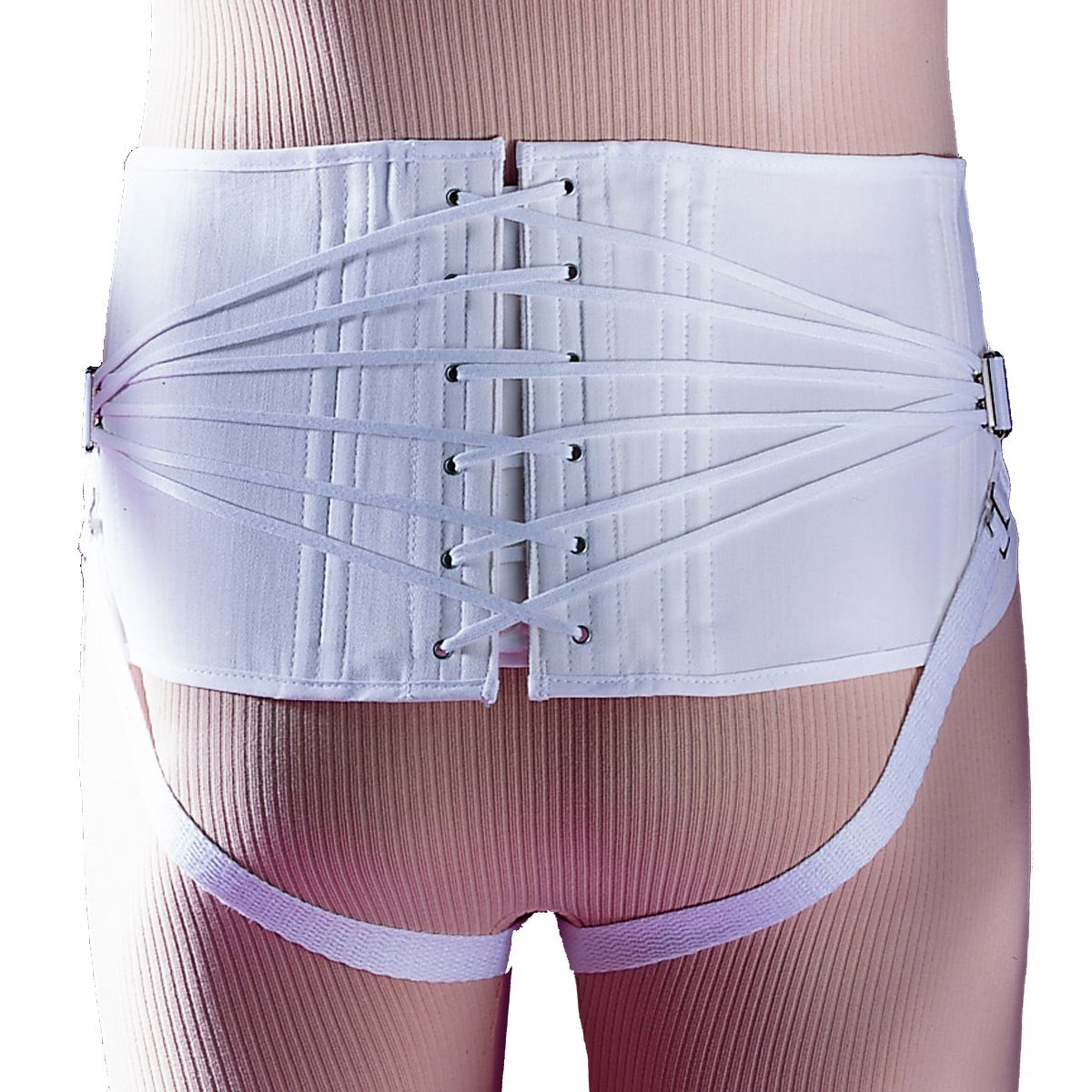Men's Back-Lace Sacroiliac Max 86% OFF w Popular popular Back Corset Pad 308 Support Brace