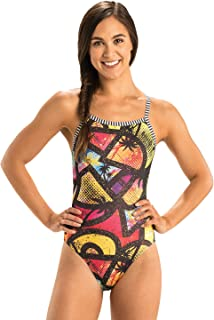 Dolfin Women's Uglies V-2 Back One Piece Swimsuit