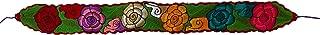 Floral Mexican Belt Authentic Handmade Embroidered Belt - Boho Style Floral Belt Cinto Mexicano Faja Flores de Colores