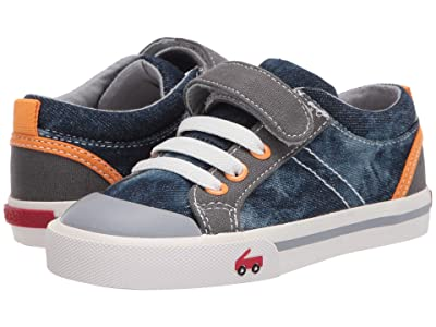 See Kai Run Kids Tanner (Toddler/Little Kid) (Washed Denim) Boy