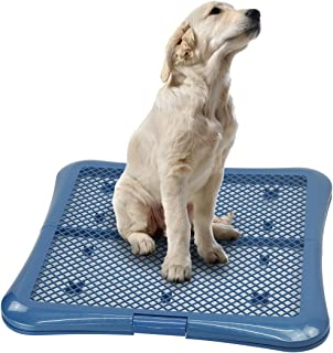 Petphabet Puppy Training Pad Holder Floor Protection Dog Pad Holder Mesh Training Tray