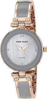Women's Diamond-Accented Bangle Watch
