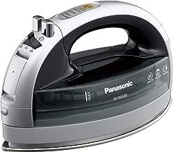 Panasonic NI-WL600 Cordless Multi-Directional Iron, Stainless Steel Soleplate, Silver/Black