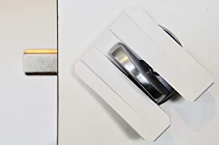 LockSquared - Portable Door Lock Stopper Jammer Deadbolt Personal Security Device. Prevent Unwanted Entry at Home, Airbnb, Hotel, College Dorms, Apartments and Hostels