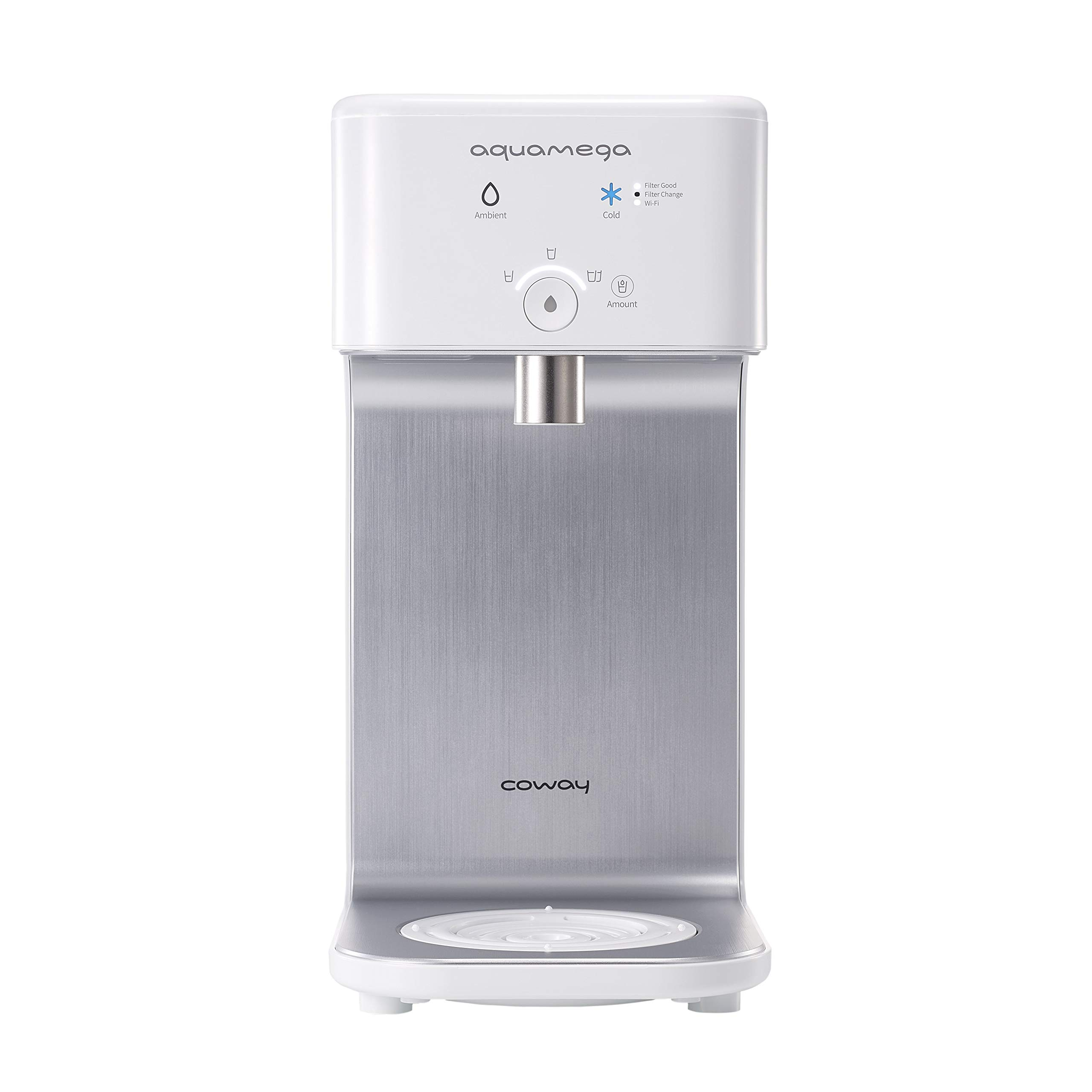 Coway Aquamega 200C purificador de agua fría inteligente, 7.1 x ...